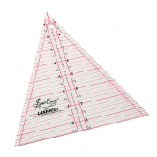 "Sew Easy Patchwork Ruler - 8.5"" x 7"" Triangle"